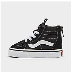 Kids' Toddler Vans Sk8-Hi Zip Casual Shoes