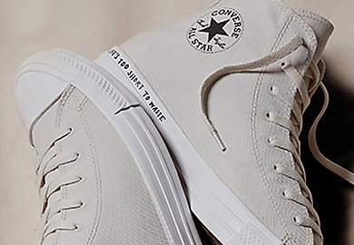 Converse embraces the challenge to go green with Renew collection made from recycled materials