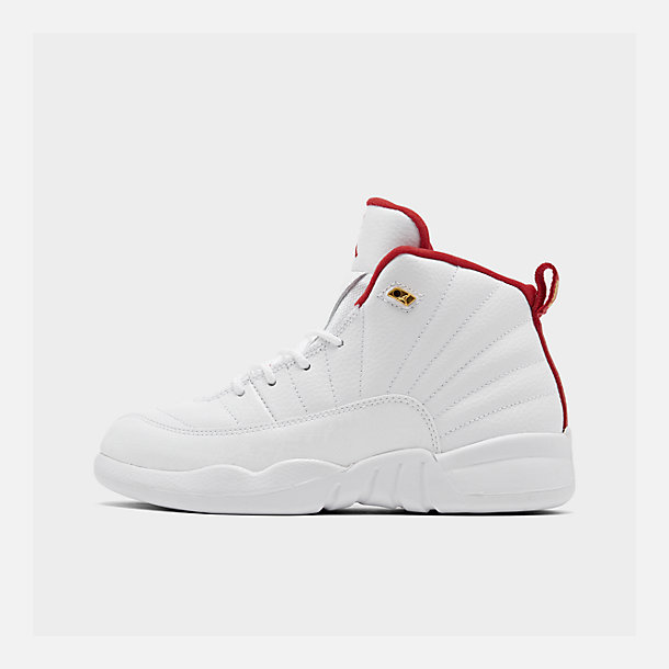 new arrivals 3cd1d b5c09 Little Kids' Air Jordan Retro 12 Basketball Shoes