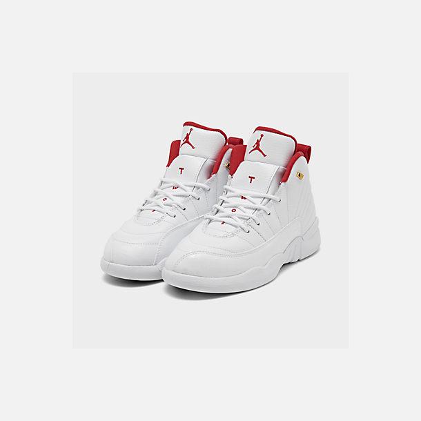 new arrivals 1baa7 3a68c Little Kids' Air Jordan Retro 12 Basketball Shoes
