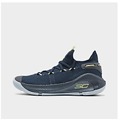Big Kids' Under Armour Curry 6 Basketball Shoes
