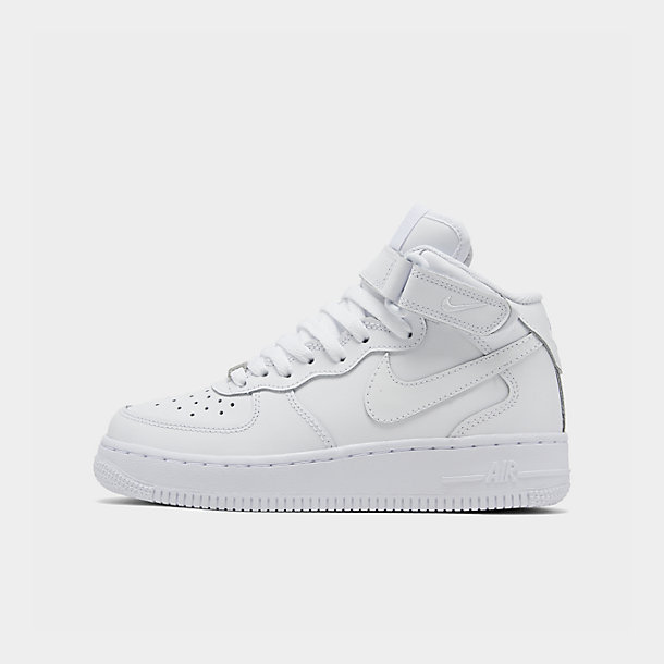 Big Kids' Nike Air Force 1 Mid Casual Shoes