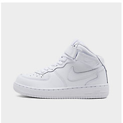 Little Kids' Nike Air Force 1 Mid Basketball Shoes