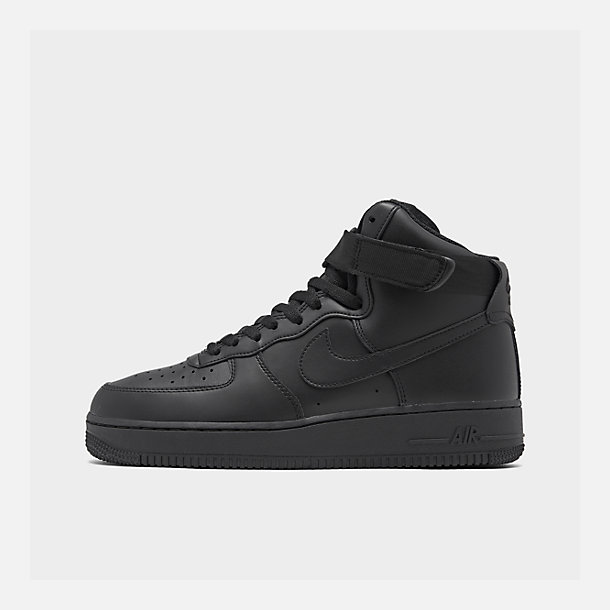 size 40 cb2e6 3f528 Right view of Men s Nike NBA Air Force 1 High 07 Casual Shoes in Black
