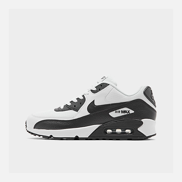 new style 717c7 81468 Right view of Women s Nike Air Max 90 Casual Shoes in White Black Black