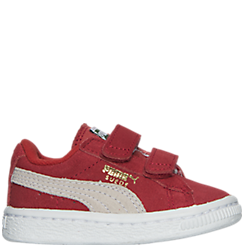 Boys' Toddler Puma Suede Hook-and-Loop Closure Casual Shoes