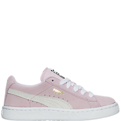 Girls' Little Kids' Puma Suede Casual Shoes