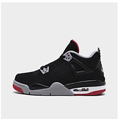 02b9871a846ebe Big Kids  Air Jordan Retro 4 Basketball Shoes
