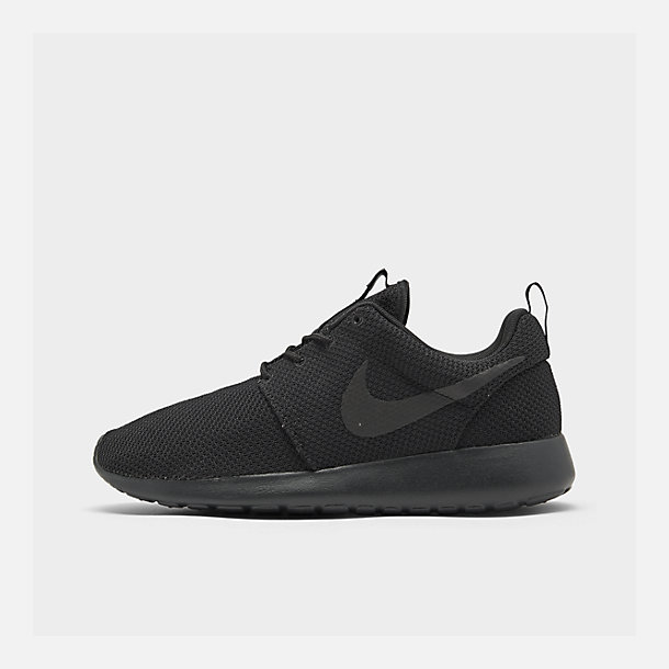 save off 1419b 249be Right view of Men s Nike Roshe One Casual Shoes in Black Black