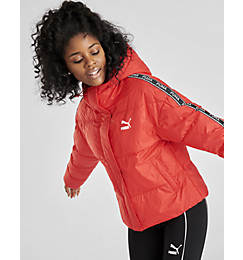 Women's Puma Tape Hooded Jacket