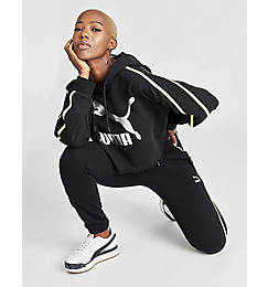 Women's Puma Tape Fleece Jogger Pants