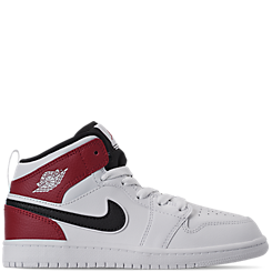 Little Kids' Air Jordan 1 Mid Basketball Shoes