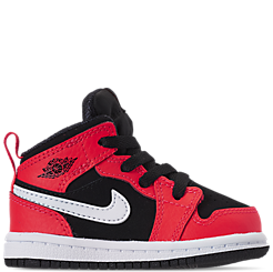 4c12bd0f627160 Kids  Toddler Air Jordan 1 Mid Retro Basketball Shoes. 1  2