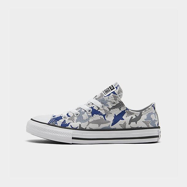 Boys' Little Kids' Converse Shark Bite Chuck Taylor All Star Casual Shoes