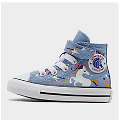 Girls' Toddler Converse Chuck Taylor Unicorns Hook-and-Loop High Top Casual Shoes