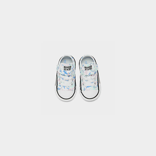 Girls' Little Kids' Converse Chuck Taylor All Star Ocean Prints Low Top Casual Shoes