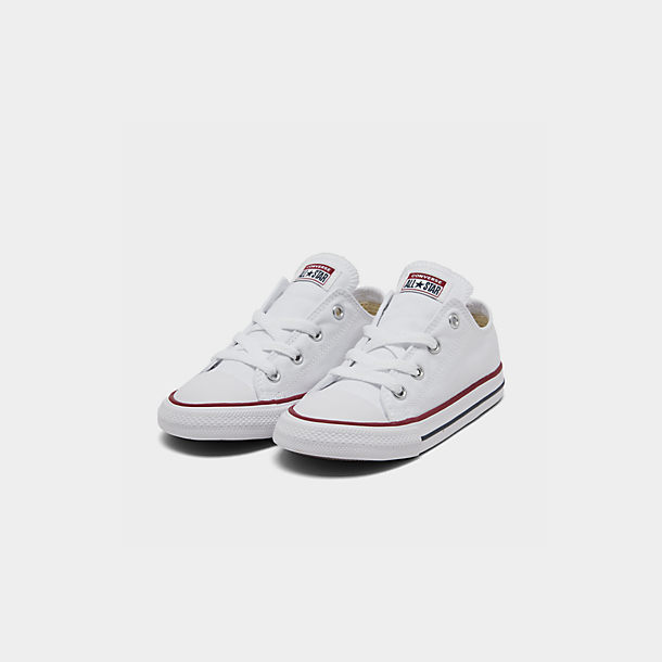 Converse All Star Chuck Taylor Low Top Red White Toddlers Little kids New 7J236