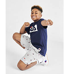 Boys' Fila Allover Print Shorts