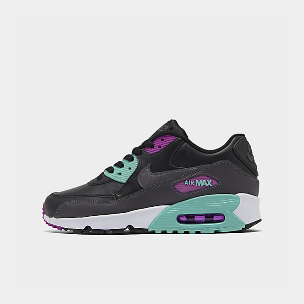 Right view of Women's Nike Air Max 90 Premium Casual Shoes
