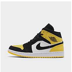 Men's Air Jordan Retro 1 Mid Premium Basketball Shoes