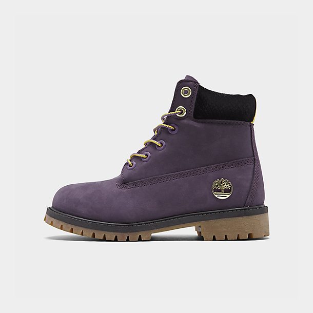 Little Kids' Timberland x NBA Los Angeles Lakers 6 Inch Classic Premium Boots