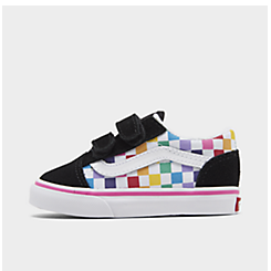Kids' Toddler Vans Old Skool Hook-and-Loop Casual Shoes