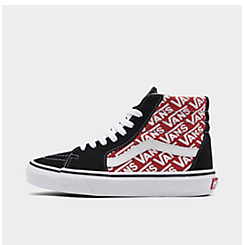 Big Kids' Vans Sk8-Hi Casual Shoes