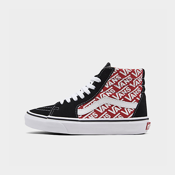 Big Kids' Vans Sk8 Hi Casual Shoes