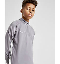 Boys' Nike Dri-FIT Academy Soccer Drill Half-Zip Top