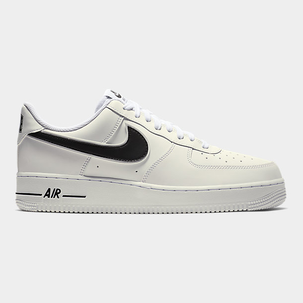 Nike Men's Air Force 1 '07 3 Basketball Shoes, WhiteBlack, Size 11.5