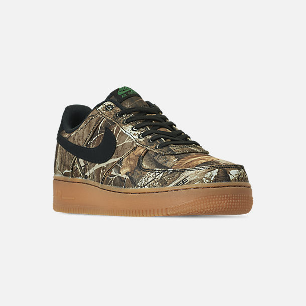 brand new fc695 a740b Three Quarter view of Men s Nike Air Force 1  07 LV8 3 Casual Shoes in