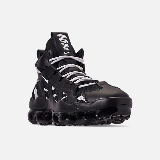 huge discount bd375 32afd Three Quarter view of Men s Nike Air VaporMax Gliese Casual Shoes in  Black White