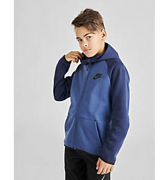 Kids' Nike Sportswear Tech Fleece Full-Zip Jacket