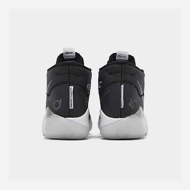 eba7f8463f483 Left view of Boys' Big Kids' Nike Zoom KD12 Basketball Shoes in Black/