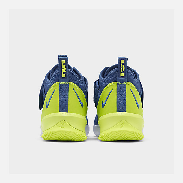 c918e7b5e0013 Left view of Boys' Big Kids' Nike LeBron Soldier 13 Basketball Shoes in Game