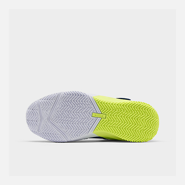 43c20b3adfbf4 Bottom view of Boys' Big Kids' Nike LeBron Soldier 13 Basketball Shoes in  Game