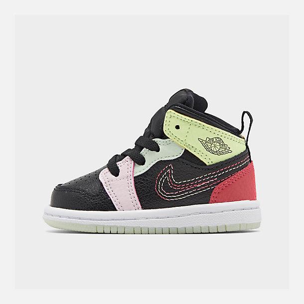 Air Jordan Girls' Shoes Toddler 1 Casual Mid nO8wkX0P