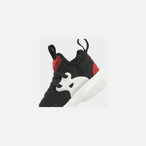 new style d1a33 24999 Front view of Kids  Toddler Nike React Presto Running Shoes in Black Phantom