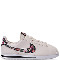 Girls' Big Kids' Nike Cortez Basic Leather Casual Shoes