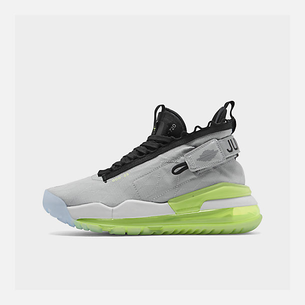 competitive price d8f49 2d9ab Right view of Men s Jordan Proto-Max 720 Casual Shoes in Wolf Grey Black