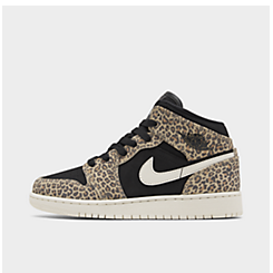 Big Kids' Air Jordan 1 Mid SE Casual Shoes