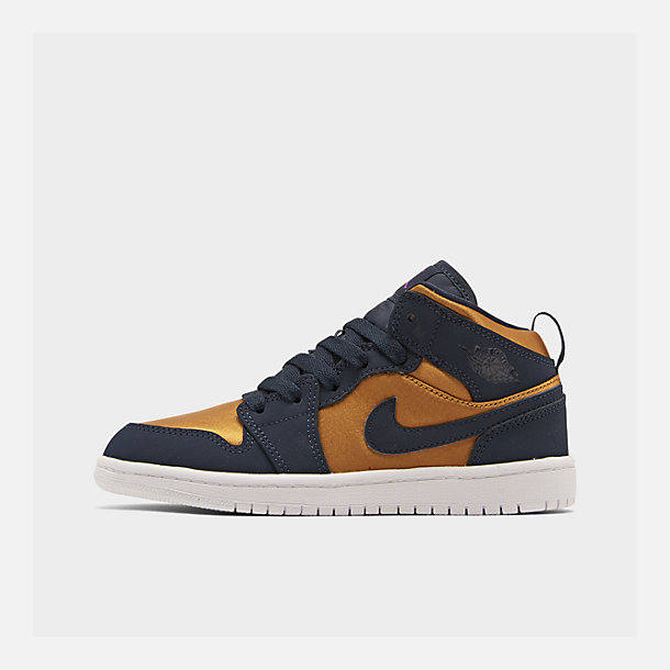 new arrival 3dccd 2595a Boys' Little Kids' Air Jordan 1 Mid SE Casual Shoes