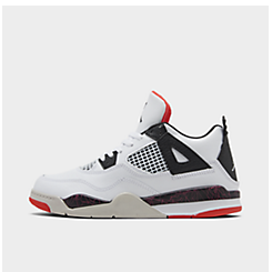 Little Kids' Air Jordan Retro 4 Basketball Shoes