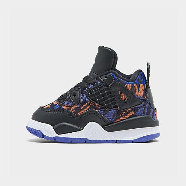 Girls' Toddler Air Jordan Retro 4 SE Basketball Shoes