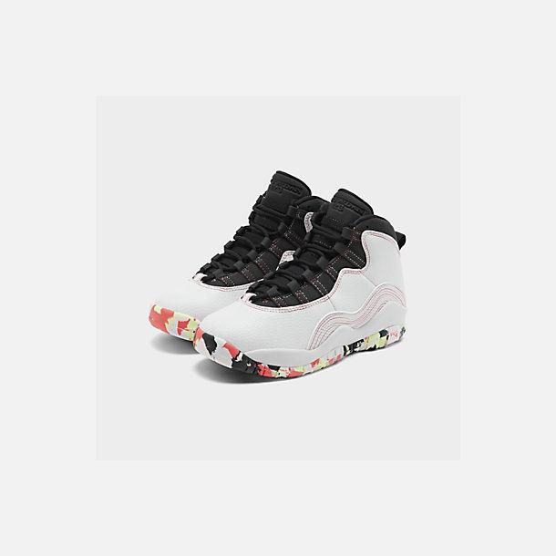 big sale d6bf5 7938f Girls' Big Kids' Air Jordan Retro 10 SE Basketball Shoes