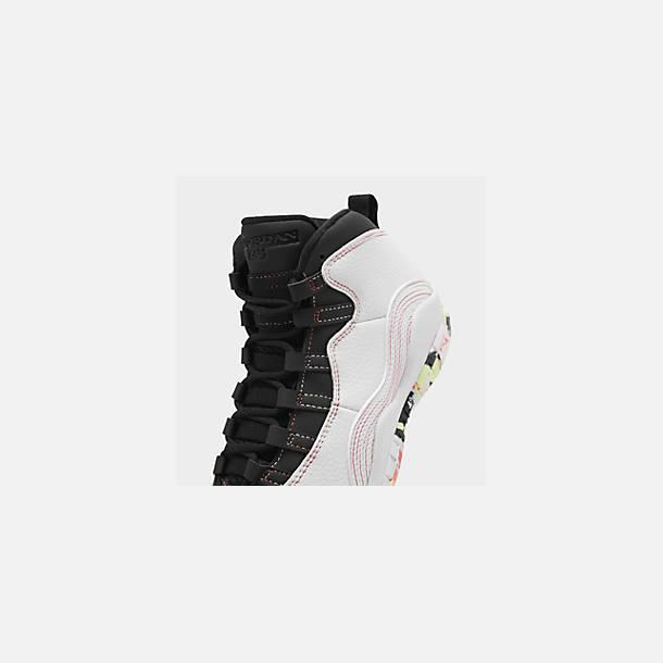 big sale 8b1bf 60f05 Girls' Big Kids' Air Jordan Retro 10 SE Basketball Shoes