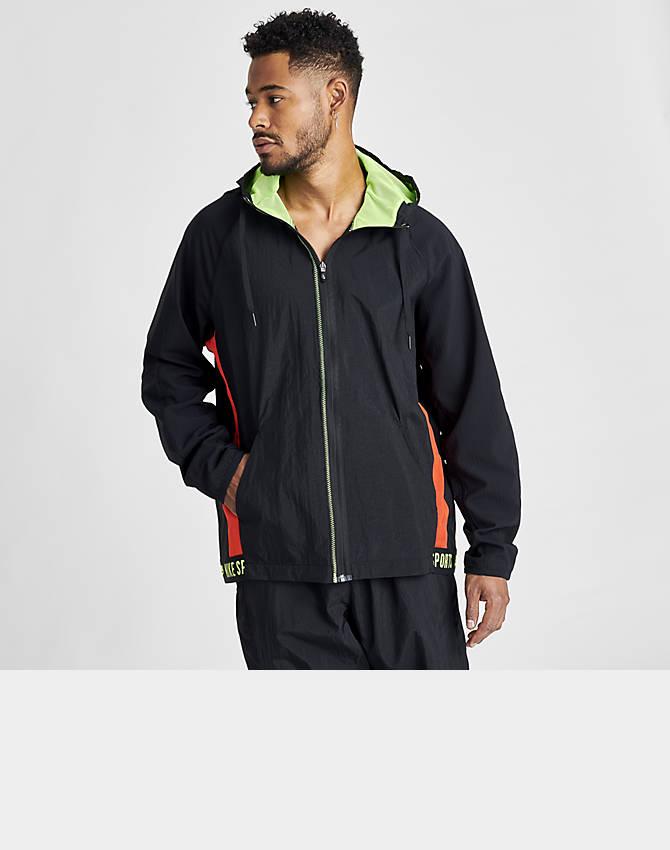 Nike Tech Fleece Windrunner Zip Hoodie Mens Sz S Athletic Training colorblock