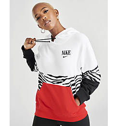 Women's Nike Sportswear Essential Animal Graphic French Terry Pullover Hoodie
