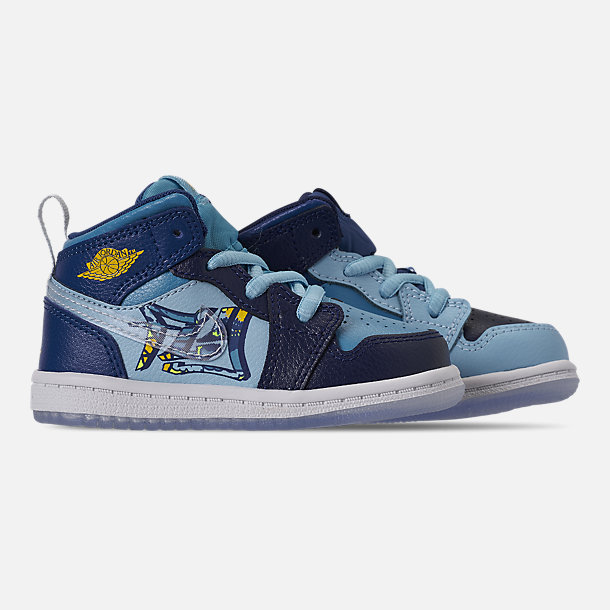 promo code 74235 a8a70 Boys' Toddler Air Jordan 1 Mid Fly Casual Shoes