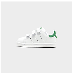 Kids' Toddler adidas Originals Stan Smith Hook-and-Loop Casual Shoes